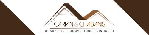 Logo Carvin&Chabanis - Charpente Couverture Zinguerie